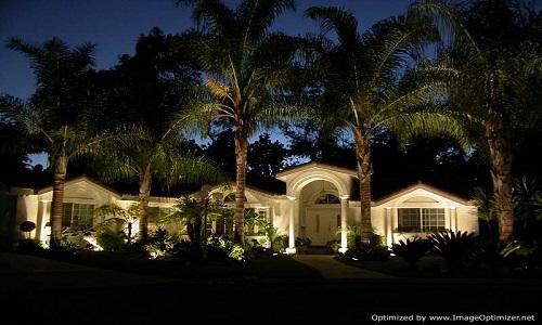 Orlando Landscape Lighting Installation From The Ground Up