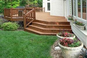 wood deck patio