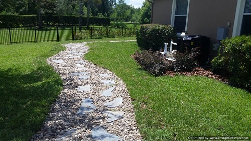 and mr flagstone walkway installation service orlando - Flagstone Walkway Design Ideas